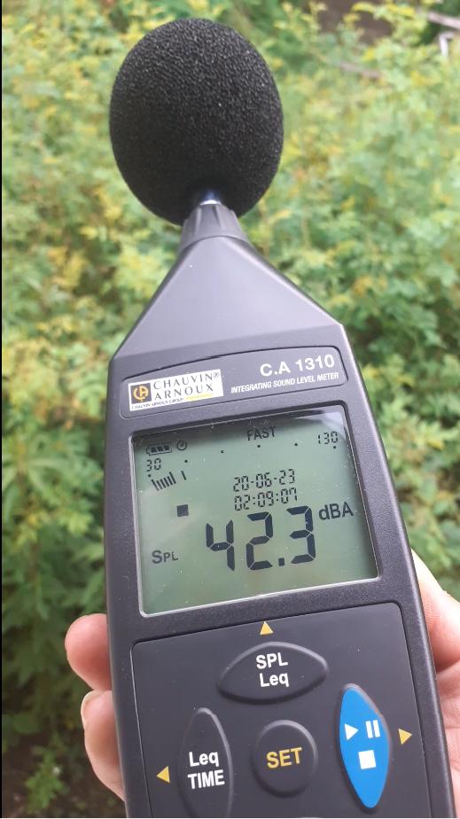 CA 1310 Class 2 integrating sound level meter